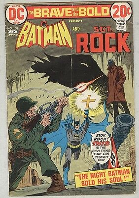 Brave and the Bold #108 August 1973 G Sgt Rock