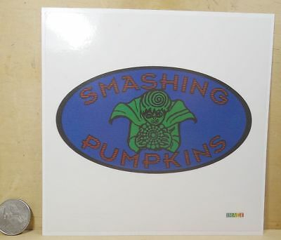 "SMASHING PUMPKINS VINYL STICKER  PEEL & STICK 5""x 5"" VINTAGE"