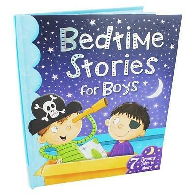 NEW Bedtime Stories for Boys  By Xanna Chown Hardcover Free Shipping