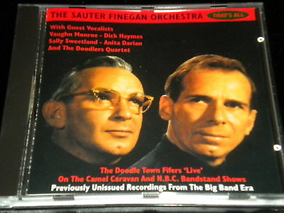 The Sauter - Finegan Orchestra - Thats All - CD Album - 26 Great Tracks