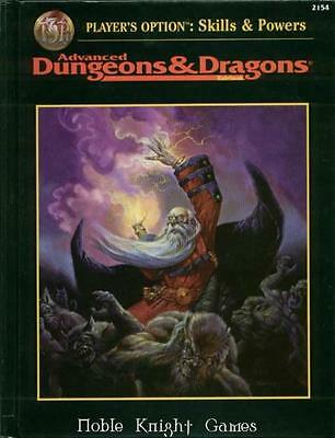TSR AD&D 2nd Ed Player's Option - Skills & Powers (2nd Printing) SC Fair