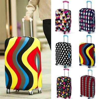 18-28'' Travel Elastic Luggage Cover Suitcase Covers Protective Bag Dustproof BS