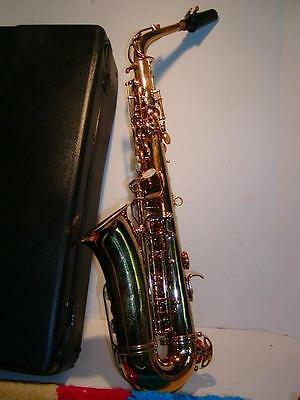 HIGHSUN TENOR SAXOPHONE - Brass, in Case, Excellent Condition Instrument. SAX