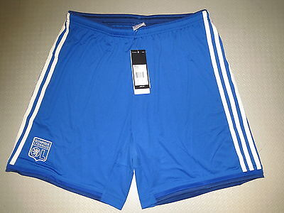 Short Trousers Olympique Lyon Away 14/15 Sz S M L XL Orig Adidas new
