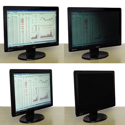 Anti Spy Protective Privacy LCD Screen Filter For PC Computer Monitor Laptop