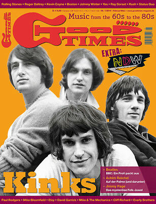 GoodTimes 1-2014 Kinks Beatles Jimmy Page Achim Reichel Yes Rush Ray Dorset
