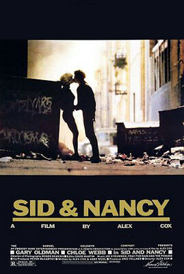 Sid and Nancy (1986) movie poster reproduction single-sided rolled