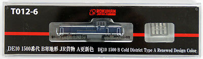 Rokuhan T012-6 Z Scale Diesel Locomotive Type DE10-1500 B Cold District