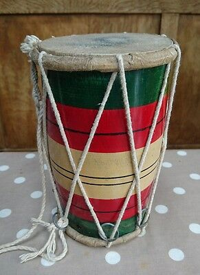 Dholki - Small - Dholki Drum - Bhangra - Percussion - Dholak wooden leather drum