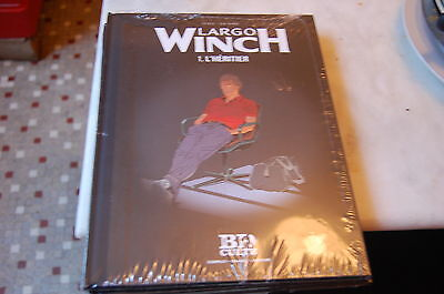 B.D BANDES DESSINÉES * LARGO WINCH tome 1 L'HERITIER  * neuf sous blister
