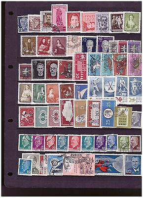 East Germany unchecked  range from old collection (3)