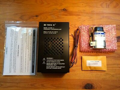 Trek II SC-60D-2 frequency conversion unit for non self starting Hammond organs