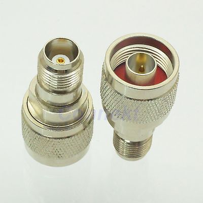 1pce N male plug to TNC female jack RF coaxial adapter connector