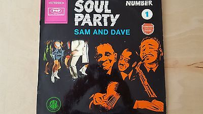 SAM AND DAVE - SOUL pARTY - STEREO GERMAN VINYL LP