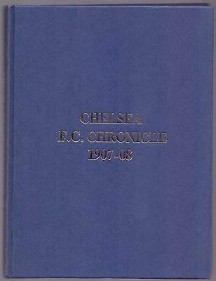 Limited Edition Bound Volume No 46,Chelsea F.C.Chronicle 1907-08