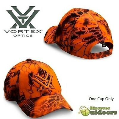 BN Vortex ORANGE Digital Kryptek Inferno HUNTING Cap HAT - HI Viz - SPORTS Rifle