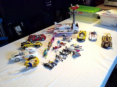 HUGE LOT Speed Racer Movie Toy Vehicle Action Figure Mach 5 BATTLE RIG ACCESSORY