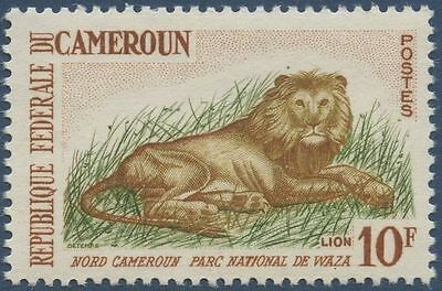 CAMEROUN 1962 N°348A** Animaux : Lion, CAMEROON MNH
