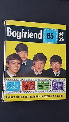 Vintage  Boyfriend 1965 Book Annual.Whats Hot in 65 - Beatles, Rolling Stones