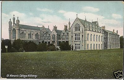 St Kieran's College, Kilkenny, Ireland, on colour postcard sent in 1912