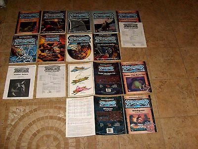 Advanced Dungeons & Dragons 2nd Ed Spelljammer Adventure Gaming Book Lot
