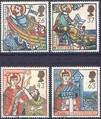 GB 1997 RELIGIOUS ANNIVERSARIES set(4) Very Fine Used (CTO with gum) SG 1972-5