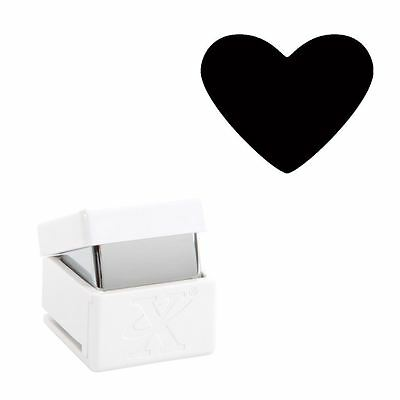 Xcut Handheld Paper Card Shape Cutter Small Palm Punch - Traditional Heart