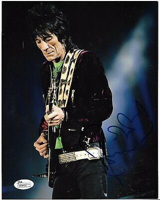 Rolling Stones: RON WOOD 8x10 glossy promo photo SIGNED! with COA and the story