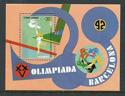 Cape Verde 628, MNH. 1992, Olympic Games Barcelona s/s. x27814