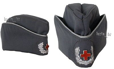 DDR Deutsches Rotes Kreuz Mütze 56 East German Red Cross hat croix rouge calot