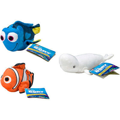 Disney Finding Dory Mini Plush with Sound Choice of Character NEW (One Supplied)