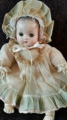SWEET Antique Baby Doll in Original Clothes Arranbee R & B Dream Baby