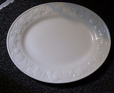 Barratts  Lincoln Oval  Platter Plate 11.5 X 9.75 Inches
