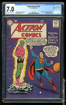 Action Comics (1938 DC) #242 CGC 7.0 1465470003