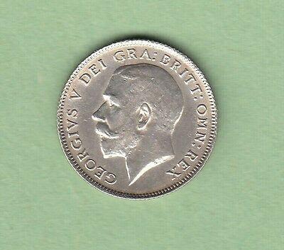1911 Great Britain Six Pence Silver Coin - EF