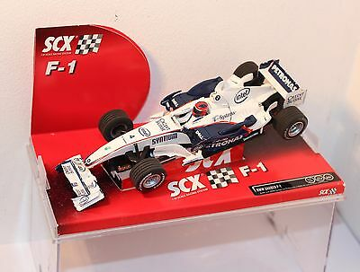 "SCX BMW SAUBER F-1 .....  ""Ref 63140"" , CASED .  1/32nd scale"