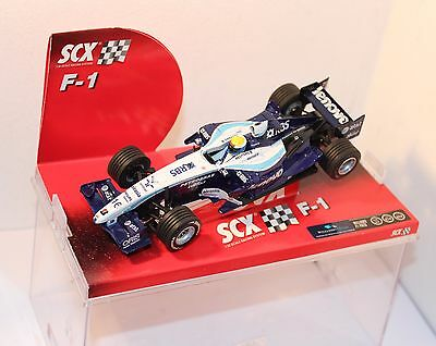 SCX WILLIAMS F1 FW28 Ref 62880 , 1/32nd scale ,  CASED .