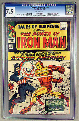 Tales of Suspense (1959) #58 CGC 7.5 Off white pages, 2nd Kraven