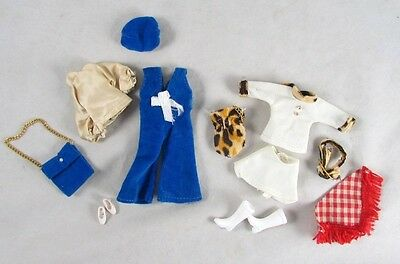 Dawn Doll JC Penney Exclusives Blue Velvet Leopard Print Clone Outfits