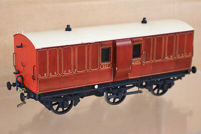 LAWRENCE SCALE MODELS O GAUGE LB&SCR 6 WHEEL GUARD LUGGAGE BRAKE COACH 307 nk