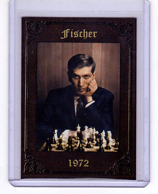 1972 Bobby Fischer World Champion Monarch Corona serial numbered only 500 exist