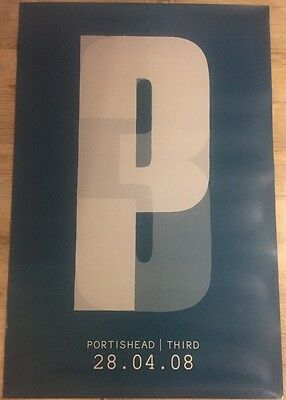 Portishead - Third, Rare promo poster From 2008!