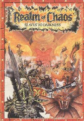 GW Warhammer 40K Realm of Chaos - Slaves to Darkness HC VG+