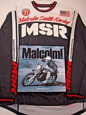 "MSR""Malcolm Smith Racing""Jersey & Malcolm! The Autobiography Book Set #352902 DA"