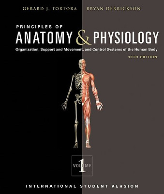 Principles of Anatomy and Physiology, Good Condition Book, Gerard J. Tortora, Br