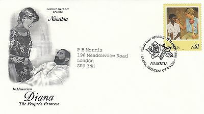 (02333) Gambia FDC Princess Diana Death 31 March 1998