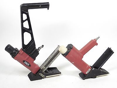 Norge Floor Nailer Lot - 18 Gauge L Cleat Flooring Nailer -#10024938