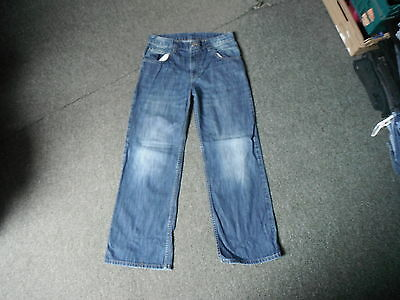 "Next Loose Jeans Waist 30"" Leg 28"" Faded Dark Blue Boys 13Yrs Jeans"