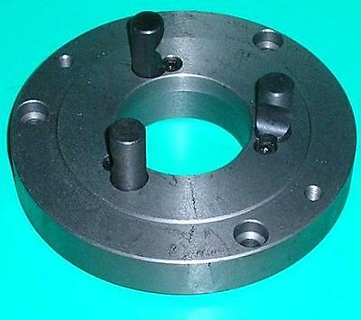 Gloster D1-4 Camlock lathe chuck backplate 125mm D4 with 3 camlock pins