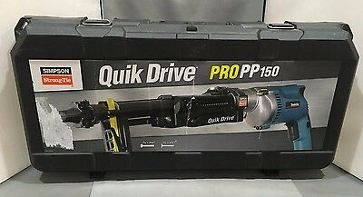 Quik Drive ProPP150 Metal Roofing System with Makita 2,500rpm Screwdriver Motor